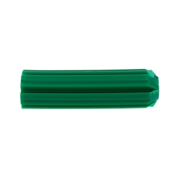 Wall Plug - Green 7 x 25mm 1000 Pk