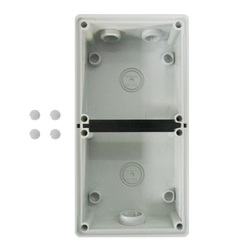 Voltex Two Gang Mounting Enclosure (Back Box) Shallow