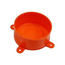 Orange Disposable junction box Lid With Lugs