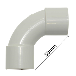 Solid Elbow-Grey 25mm PK20