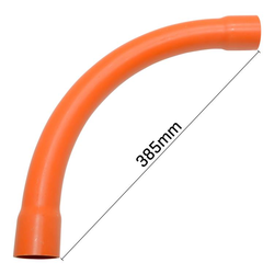 90° Sweep Bend Orange 40mm