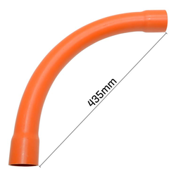 50mm Sweep Bend Orange 90°