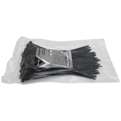 Black Cable Ties 200 x 4.8mm - 100 Pack