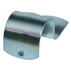 Galvanised Half Saddle 16mm 100PK